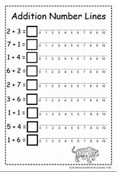 addition worksheets using number line 8951 number line addition worksheets kindergarten printables