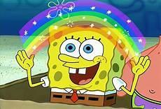 Gambar Spongebob Imajinasi