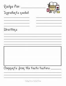 recipe template by the magic of grade teachers pay