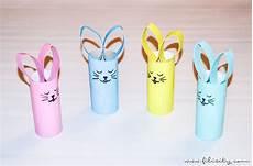 Osterhasen Basteln Aus Papier - basteln mit kindern osterhasen aus papierrolle filizity
