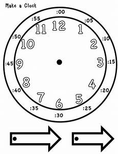 time worksheets for preschoolers 3595 telling time make you own clock 2nd grade happenings teachers pay teachers