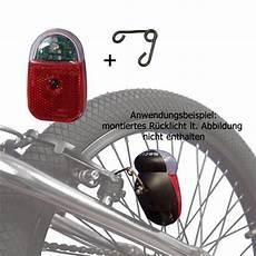fahrrad led r 252 cklicht standlicht mit crosshalter f 252 r