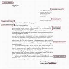 lettera all ufficio personale lettera formale inglese azienda chiamaroma