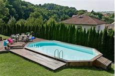 amenagement piscine en bois amenagement piscine hors sol bois
