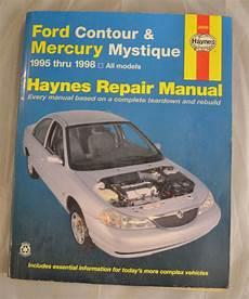 free car manuals to download 1995 mercury mystique lane departure warning haynes 1995 1998 ford contour mercury mystique car repair manual 36006 ebay