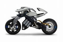 A First Look At Yamaha's Futuristic Motoroid Motorcycle