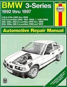 best auto repair manual 1992 bmw 3 series on board diagnostic system bmw 3 series 1992 thru 1997 automotive repair manual rent 9781563922503 1563922509