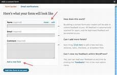 wordpress contact form jetpack for wordpress