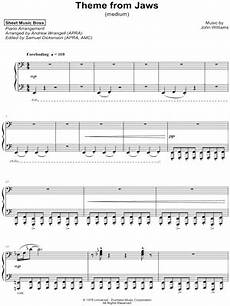 quot theme from jaws quot sheet music 11 arrangements available