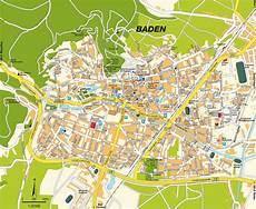 Plz Baden Baden - stadtplan baden nieder 246 sterreich maps karte und