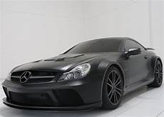 Mercedes Black Series Sporty Mercedes Sl65 Amg Black Series Brabus Tuned