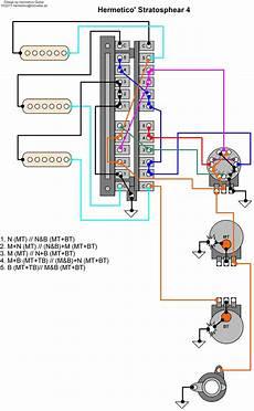 hermetico guitar wiring diagram hermetico s stratosphear mod 4