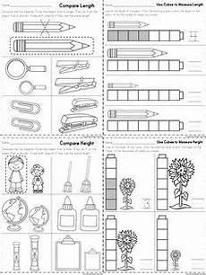 measuring worksheet for grade 1 1760 kindergarten math measurement mathe mathematik und lernen