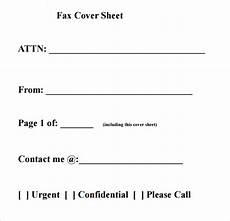 download fax cover sheet templates pdf printable calendar office