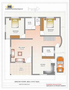 duplex house plans india duplex house plan and elevation 2878 sq ft indian
