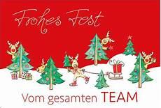 lustige weihnachtskarte teamkarte mit farbdruck und