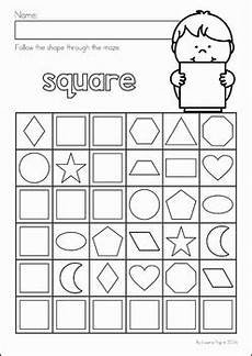shape maze worksheet 1194 shapes maze no prep worksheets by lavinia pop teachers pay teachers