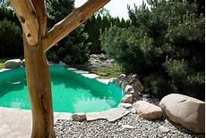 pool im garten gartengestaltung mit naturstein leipzig