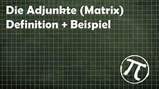 adjunkte matrix