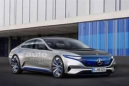 Mercedes Benz EQS All Electric Luxury Sedan Revealed In