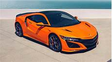 2019 acura nsx updates announced