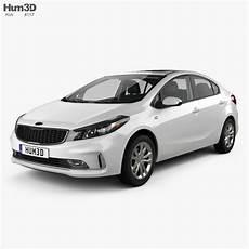 kia k3 2020 kia k3 cn spec sedan with hq interior 2018 3d model