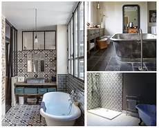 salle de bain avec carreaux de ciment les carreaux de ciment lagrandetendance