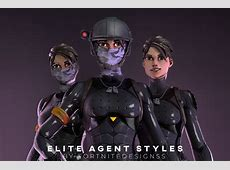 What about elite agent with no mask? Not oc! : FortNiteBR