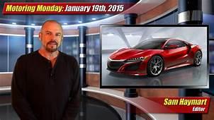 Motoring Monday January 19th 2015  TestDrivenTV