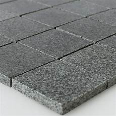 anthrazit fliesen granit mosaik fliesen anthrazit 48x48x8mm mt51288