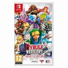 jeux sur la nintendo switch hyrule warriors definitive edition switch jeux