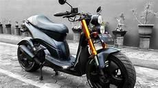 Modifikasi Motor Matic Vario by Modifikasi Motor Keren Honda Vario Cafe Racer Asli