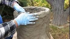 gartendeko pflanzk 252 bel aus beton selber machen
