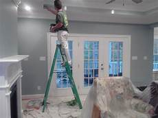 seaside interiors french country living room update languid blue by sherwin williams french
