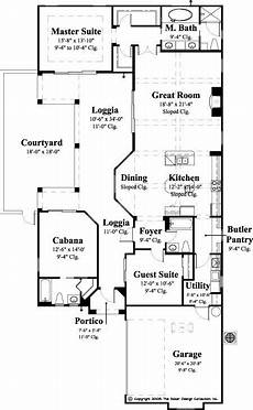 spanish courtyard house plans the gavello house plan mediterranean style house plans