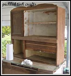 Pickled Tink Crafts Hoosier Cabinet Restore
