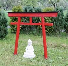 Torii 03 Japan Garten Holzbogen Torbogen Tor Holz Feng
