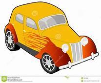 Custom Car Illustration Stock