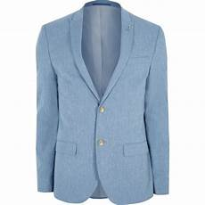 Homme Veste De Costume En Bleu Clair Bleu