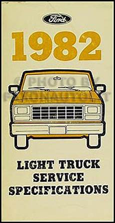 free auto repair manuals 2003 ford e150 windshield wipe control 1982 ford service specs manual econoline van e100 e150 e250 e350 club wagon ebay