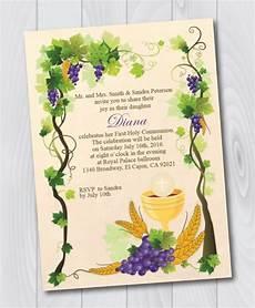 carte invitation communion printable holy communion invitation e card holy