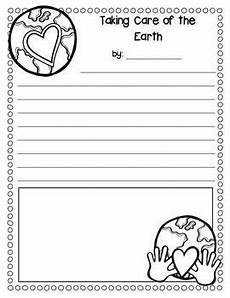 taking care of the earth worksheets 14434 taking care of the earth writing freebie teacherspayteachers firstgradefaculty