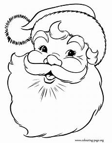 of santa claus coloring page