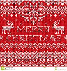 merry christmas scandinavian style seamless knitted pattern wit stock vector illustration of