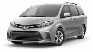 2020 Toyota Sienna L Vs LE SE Premium XLE
