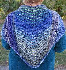 Einfaches Lochmuster Stricken - shawls for bulky yarn knitting patterns in the loop