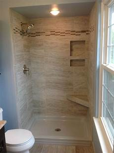 bathroom and shower tile ideas marazzi silk 12x24 quot tiles in a 34x48 quot shower space americh shower base in 2019