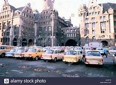 Leipzig Cars East Germany In The 1980 S Trabant Cars Stock