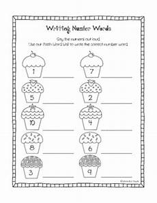 writing numbers in words worksheets kindergarten 21160 1000 images about number words kindergarten on pocket charts words and activities