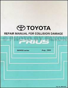 service manuals schematics 2004 toyota celica navigation system 2004 2008 toyota prius body collision repair shop manual original